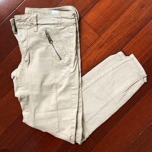 American Eagle Tan Jegging Super Stretch Jeans